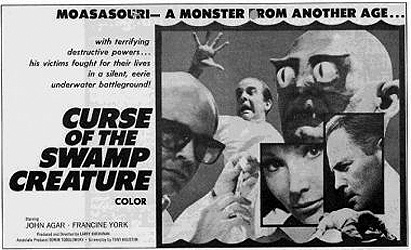 The Curse of the Swamp Creature (1966)