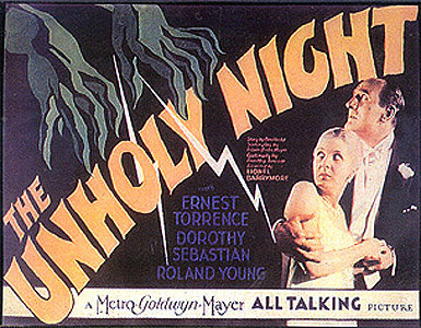 The Unholy Night (1929)